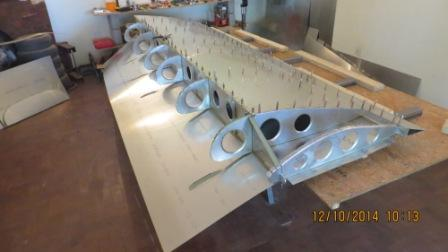 81B Right Wing nose skin fitted.jpg